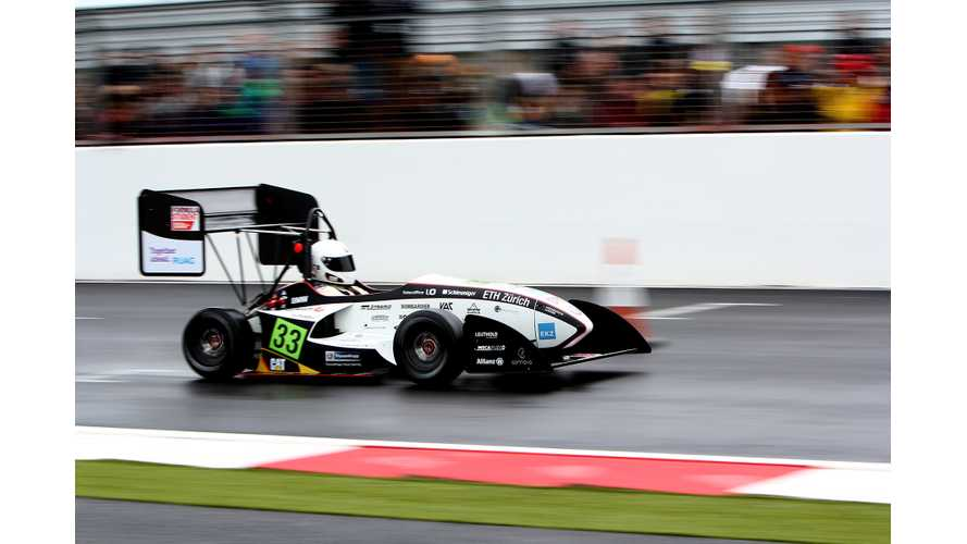 ETH Zurich Electric Vehicle Crushes Gas-Burning Competition to Capture Overall Victory in Formula Student 2013