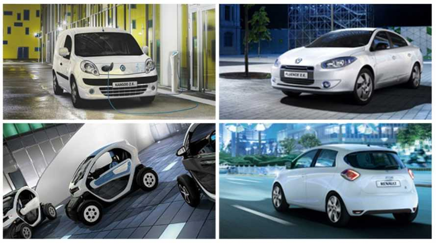 Renault Sets Electric Vehicle Sales Target at 36,000 Units for 2013
