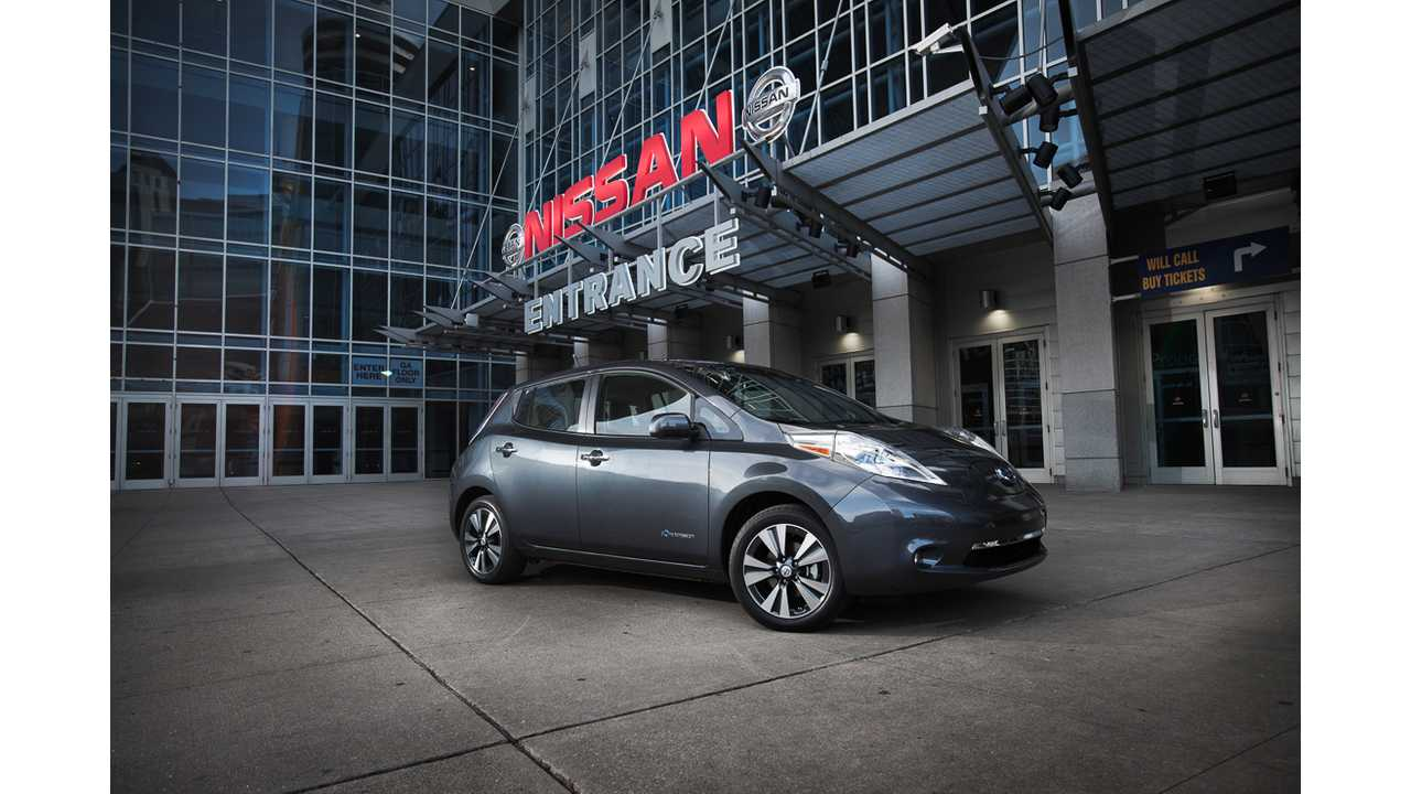 Sales of the Nissan LEAF Lead the Charge Past 100,000