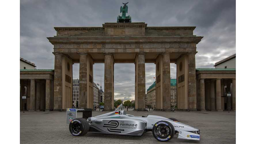 Berlin Selected as 10th and Final City for Formula E Electric Racing Series