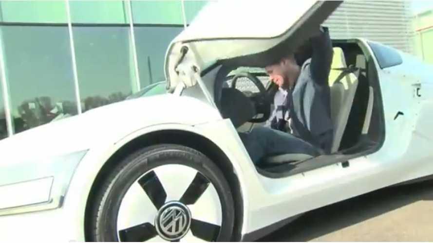 Volkswagen Enters The XL1 Into Goodwood Hill Climb