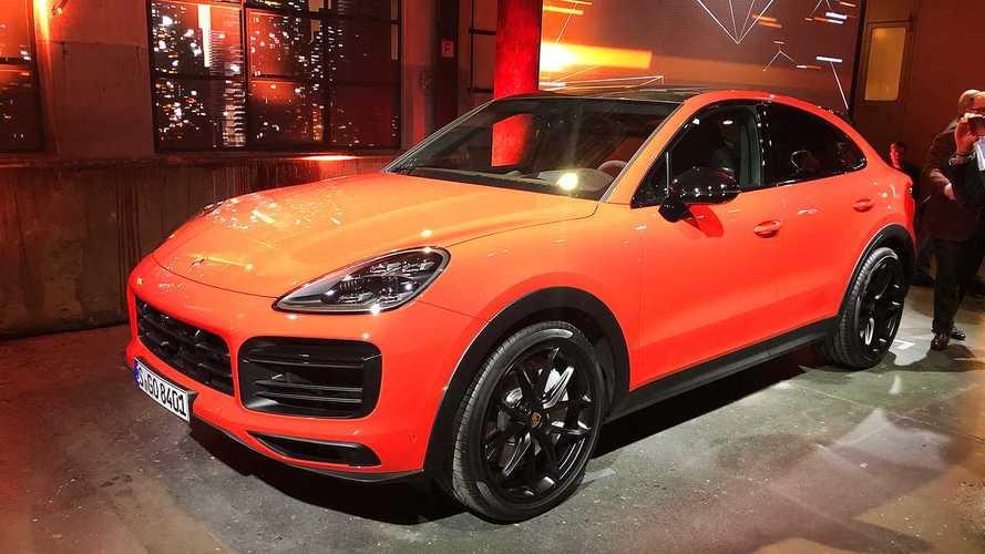 Porsche Cayenne Coupe Sitzprobe