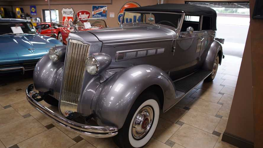 This 1937 Packard V8 Offers Old School Styling With Modern Power