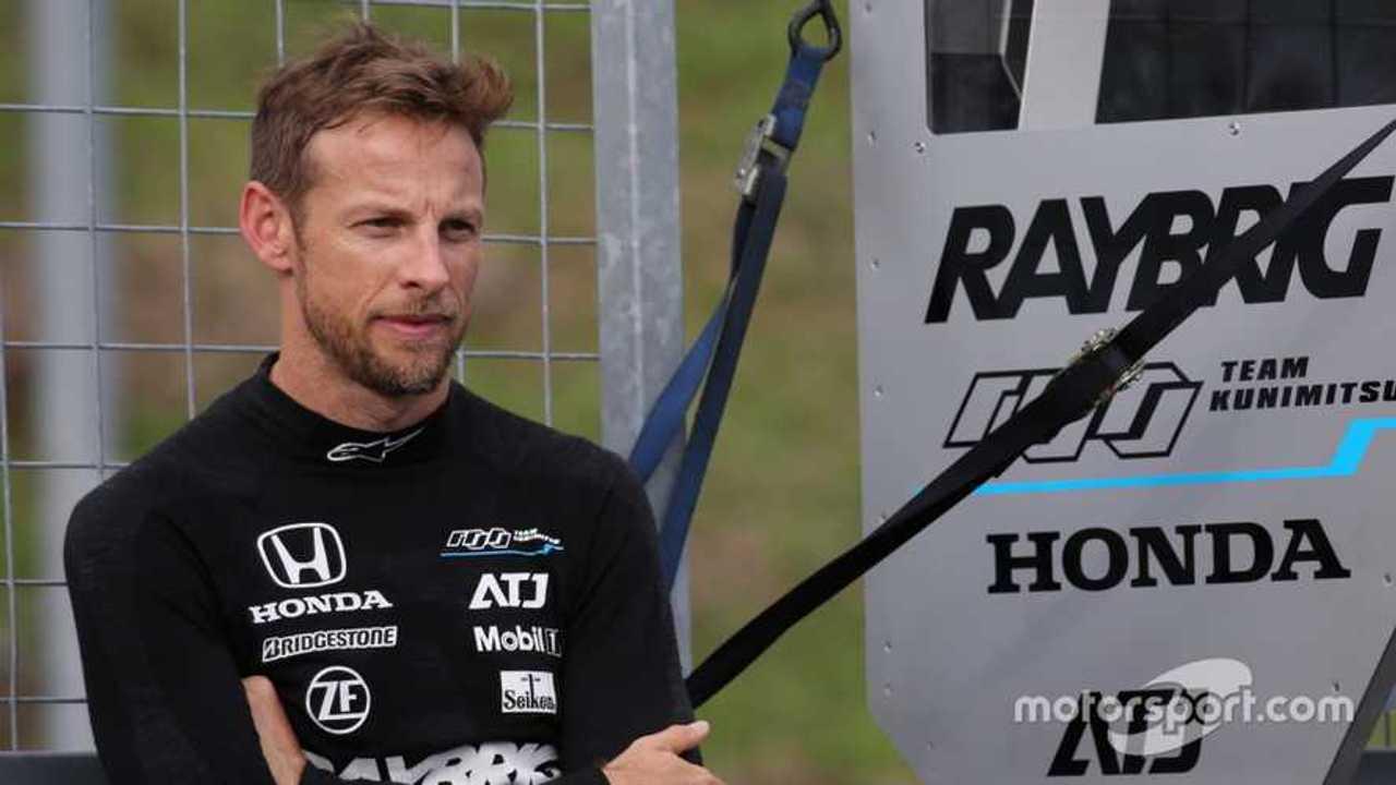 Jenson Button at Super GT Sugo