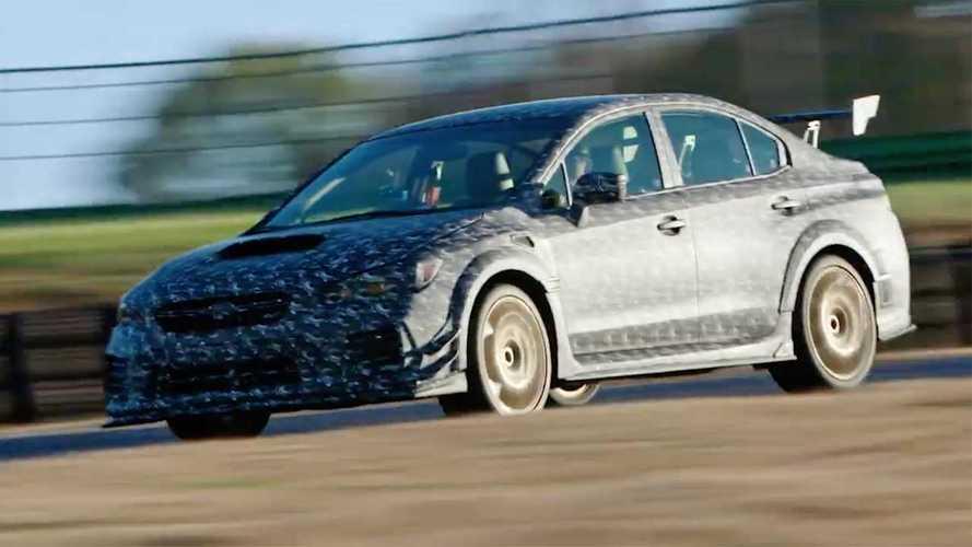 Subaru WRX STi özel versiyonu Detroit yolcusu