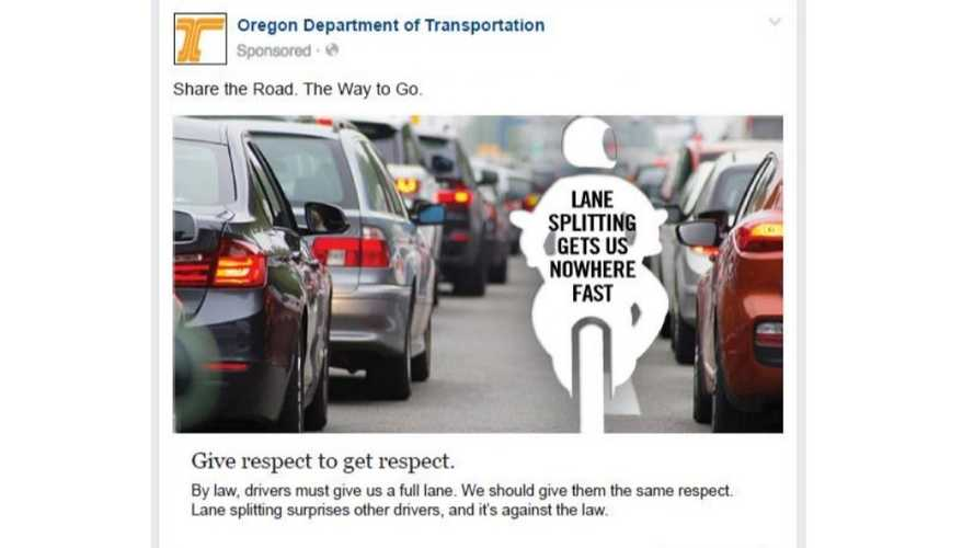 Oregon Teases Lane Splitting Bill Again