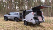 FIM Migrator: Kleinst-Wohnwagen lässt sich ohne Anhängerführerschein nutzen