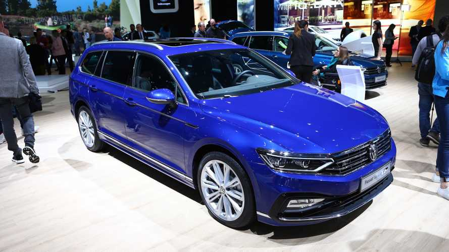 VW Passat facelift (Euro Spec) at the 2019 Geneva Motor Show