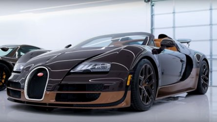 Bugatti Veyron Grand Sport Vitesse Rembrandt Is A Work Of Art