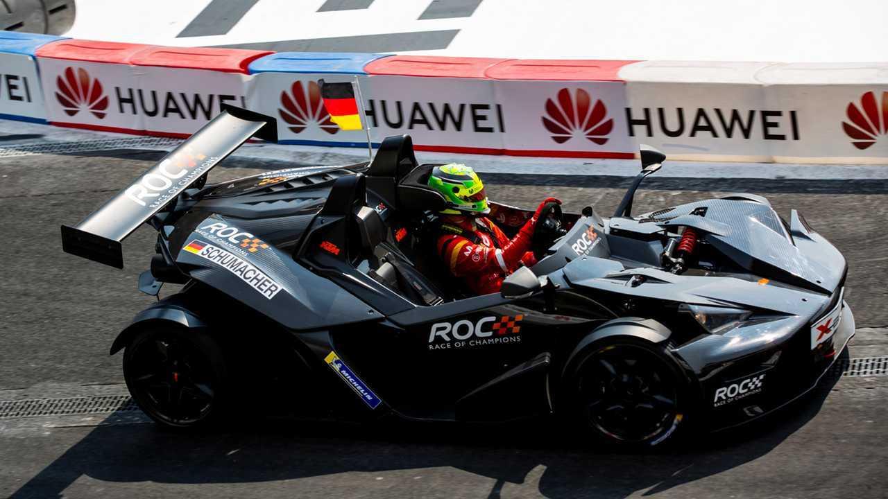 Mick Schumacher at Race of Champions 2019