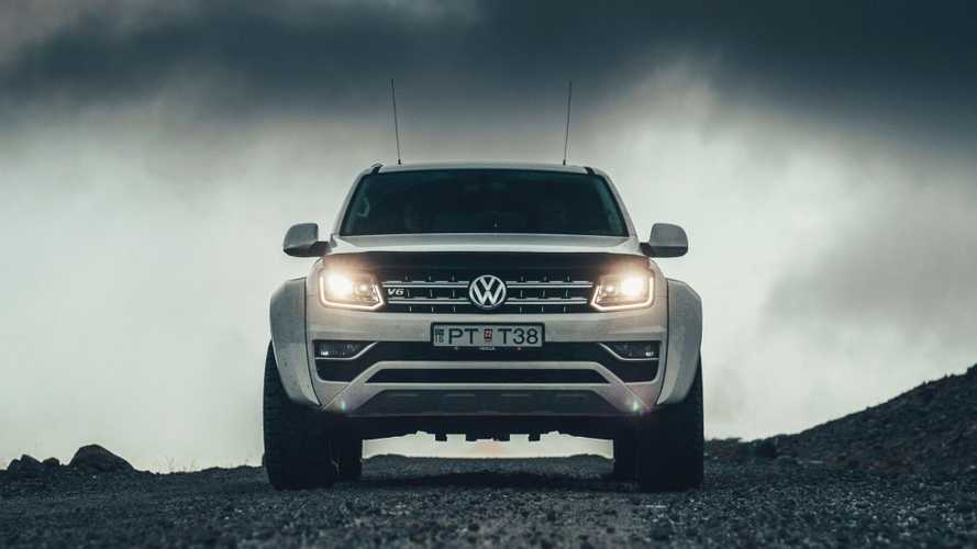 Volkswagen Amarok ecco la versione di Arctic Trucks