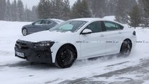 Opel Insignia new spy photo