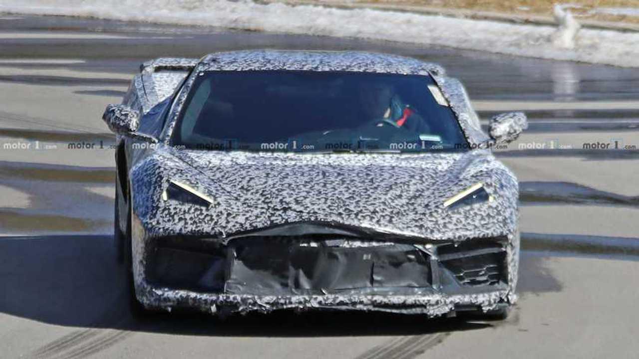Corvette Spy-Foto mit mittlerem Motor