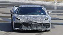 C8 Chevrolet Corvette detailed spy photos