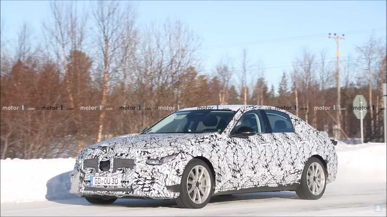 2021 Spy Shot Classe C Mercedes-Benz