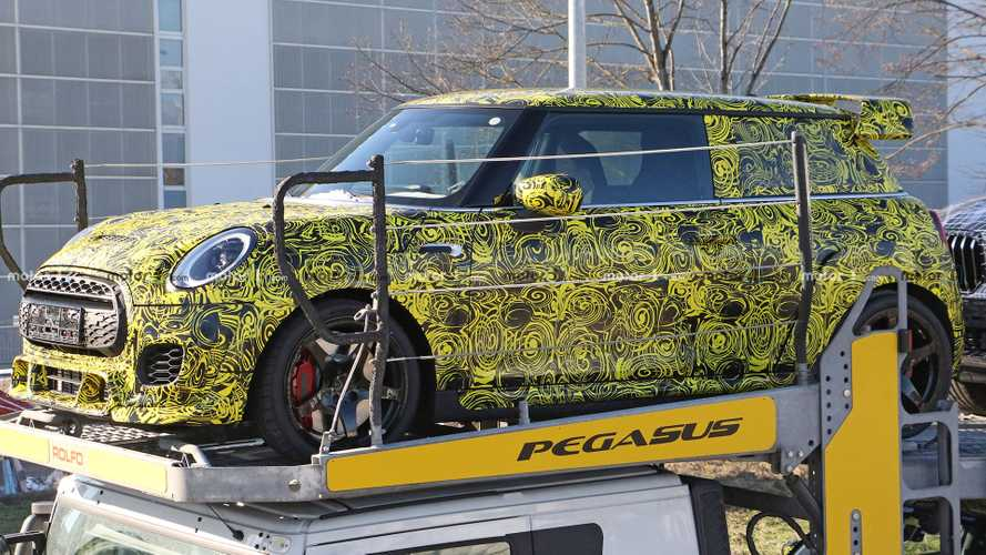 Mini Hardtop John Cooper Works GP Spied Looking Mean