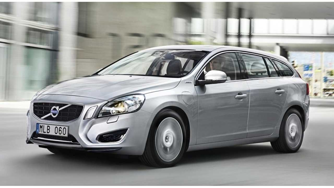 Volvo V60 Plug-In Demand Increases, Company Looks To Double Production...Again
