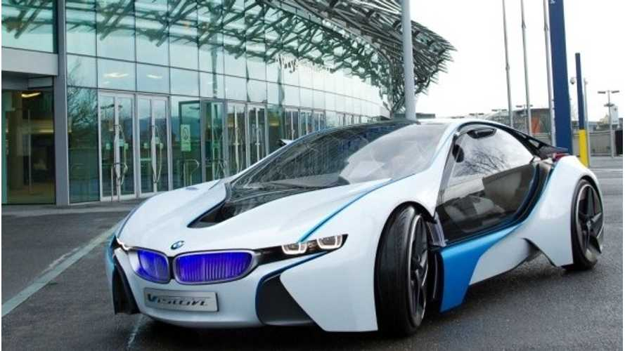 Amidst Cancellation/Delay Rumors on i-Series Cars, BMW Announces Engine Production for i8