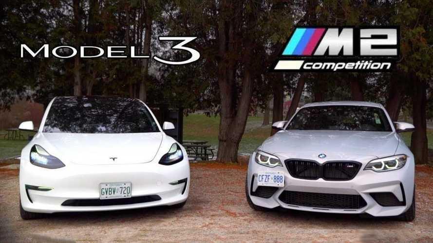 Tesla Model 3 Versus BMW M2: The $60,000 Question