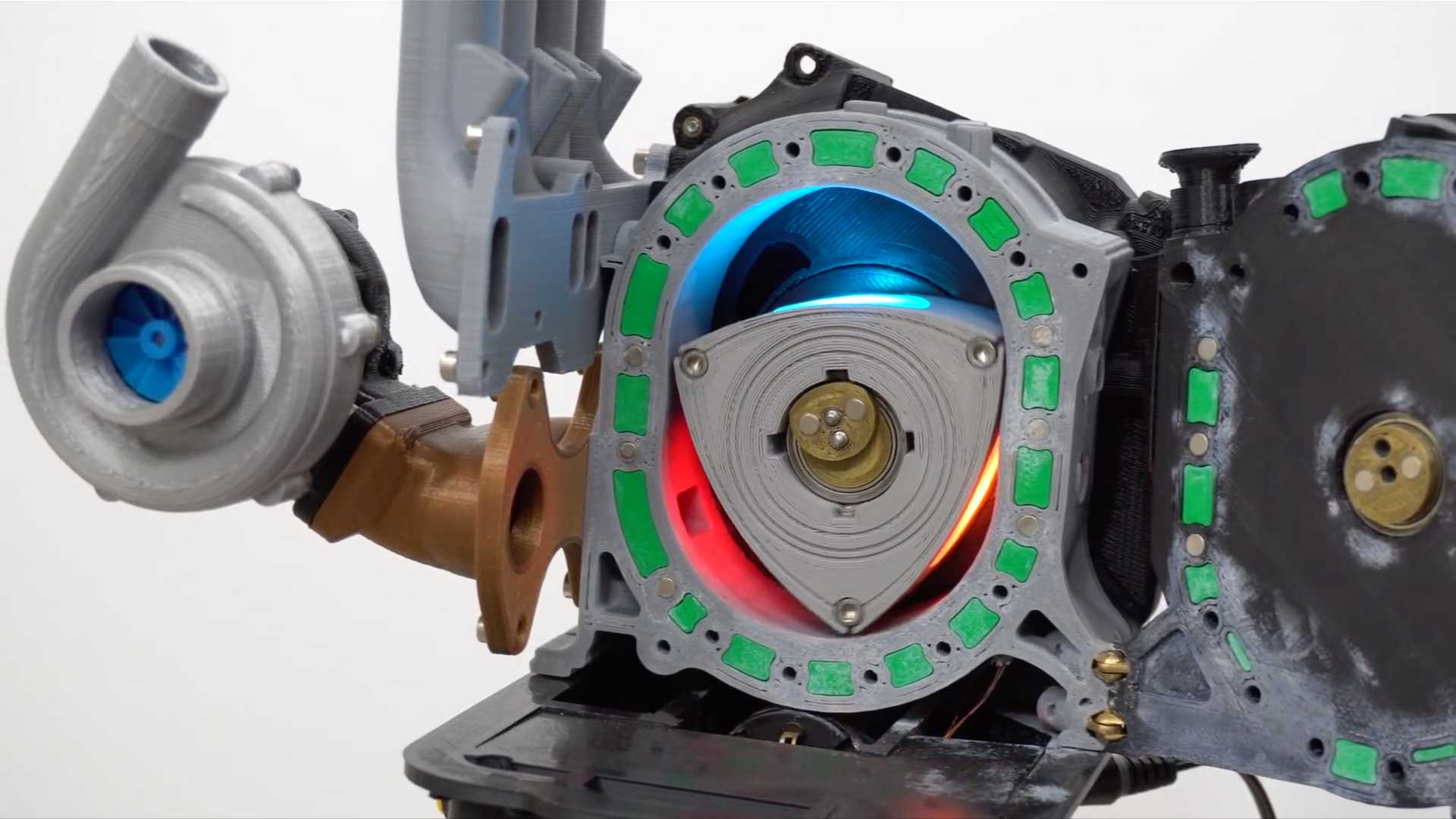 3D Printed Mazda Rotary Engine Makes Our Hearts Rev To 9 000