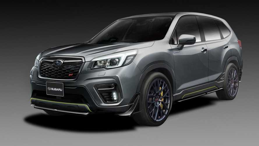 Subaru Forester STI, Impreza STI Concepts get visual upgrades