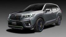 Prototipos Subaru Impreza STI y Forester STI
