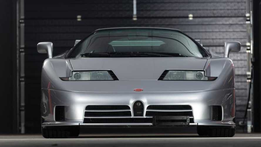 Un Bugatti EB110 Super Sport, subastado por 2.030.000 euros
