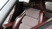 Porsche Top 5 fancy seat patterns - Red and white Stripes