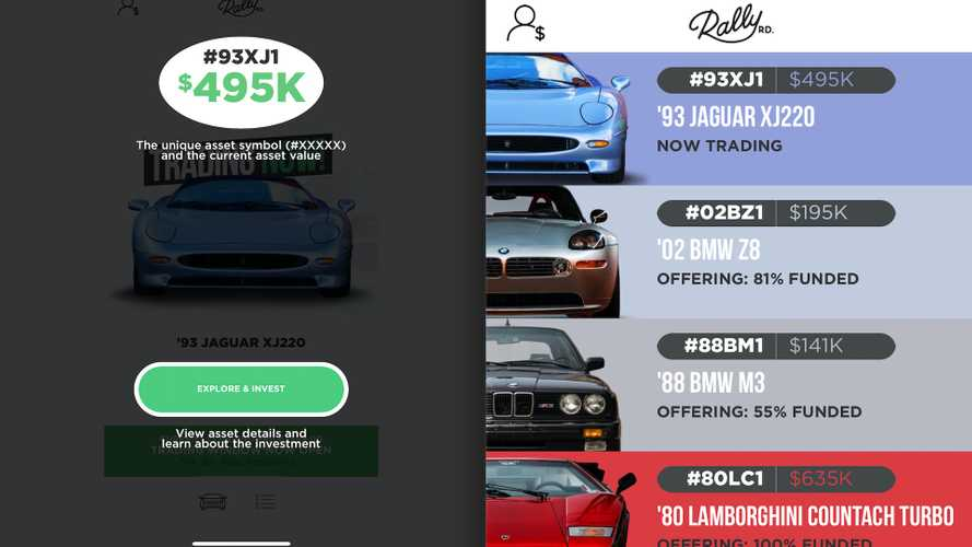 App Allows You to Partially Own a Collectible Car