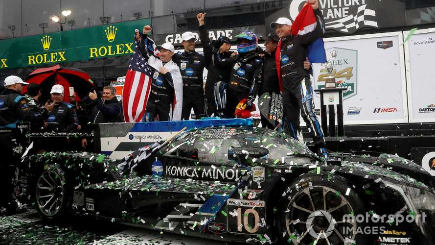 Alonso wins Rolex 24 shortened race with WTR