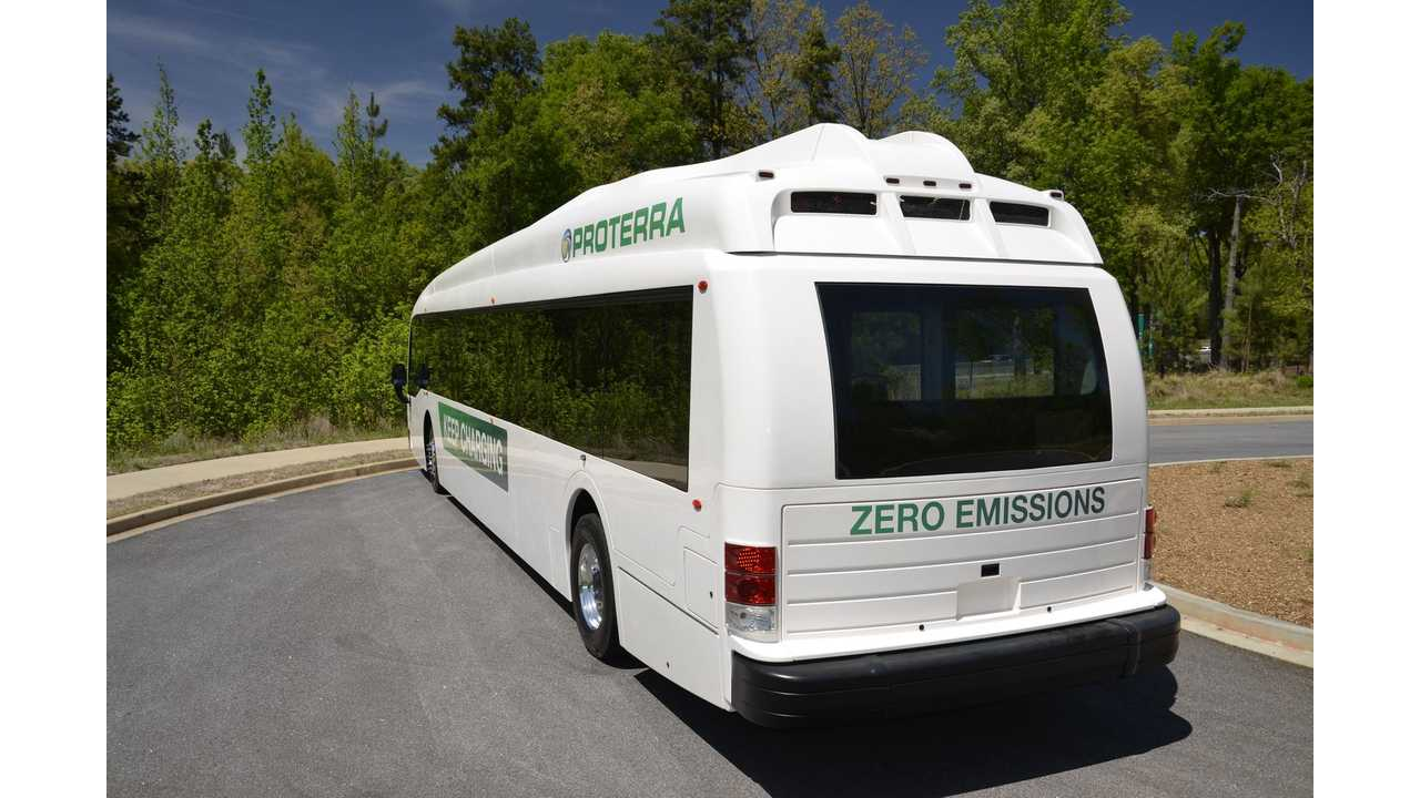 Proterra Sets Record for Most Miles Traveled in a Day by a Battery-Electric Transit Bus