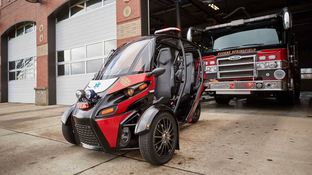 Arcimoto Rapid Response Vehicle