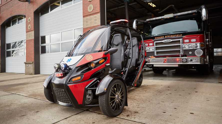 The Arcimoto Rapid Responder Will Get Help There Quicker