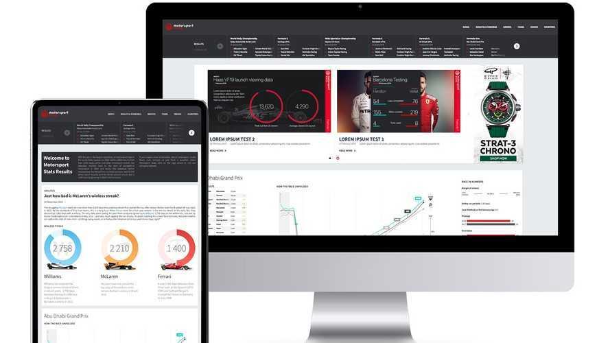 Motorsport Stats lanza gratis la base de datos de resultados más grande del mundo