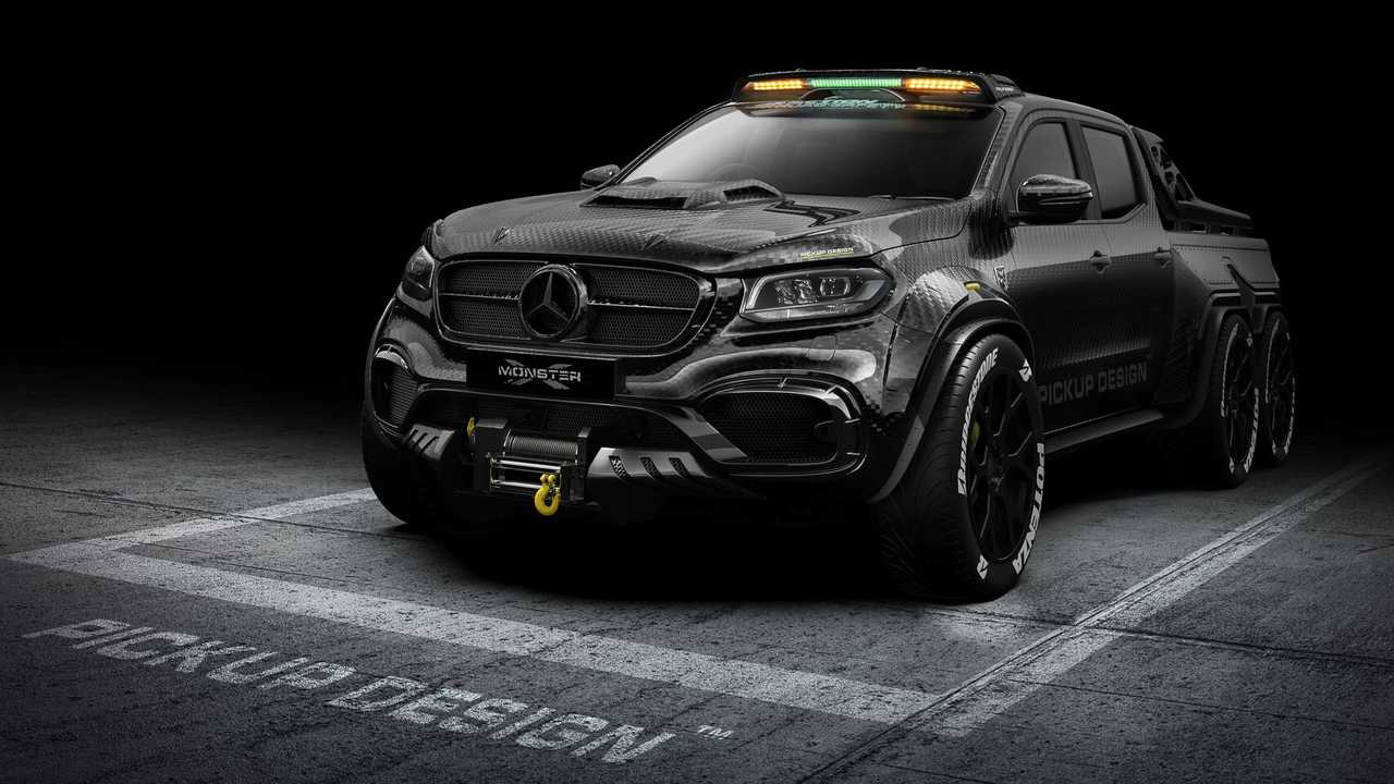 Pick-up Design Exy Monster X Concept