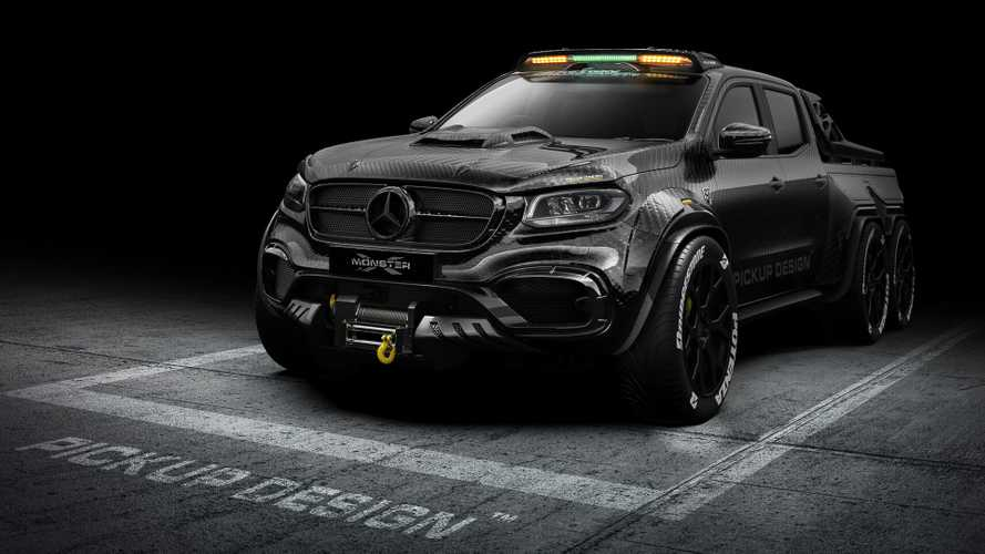 Quand le Mercedes Classe X se transforme en méchant pick-up