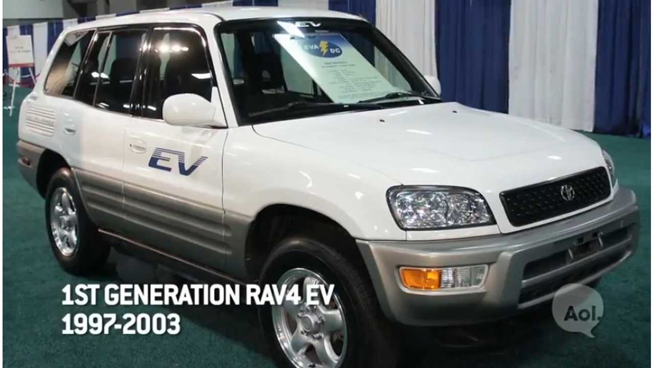 15 Years Ago Toyota Launched The First Generation Of The RAV4