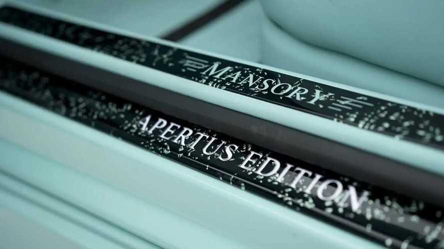 Mercedes-AMG S63 Cabrio 'Apertus Edition'