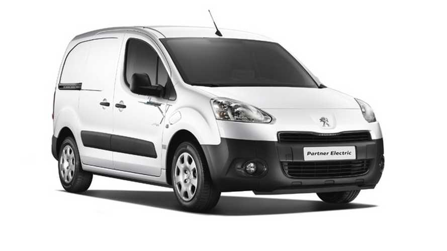 Peugeot Unveils Electric Partner Van