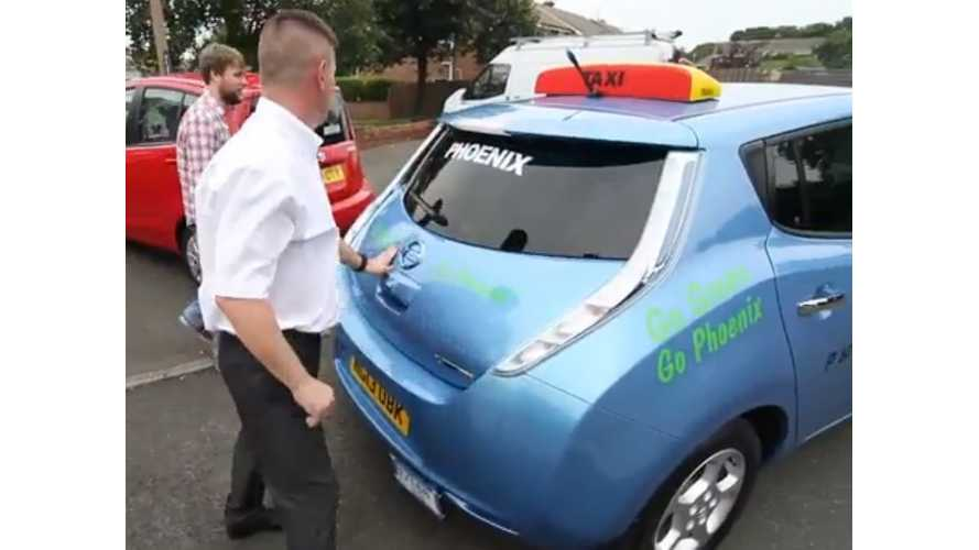 Video:  UK Taxi Firm's Purchase Of Nissan LEAFs Examined By Science Journalist