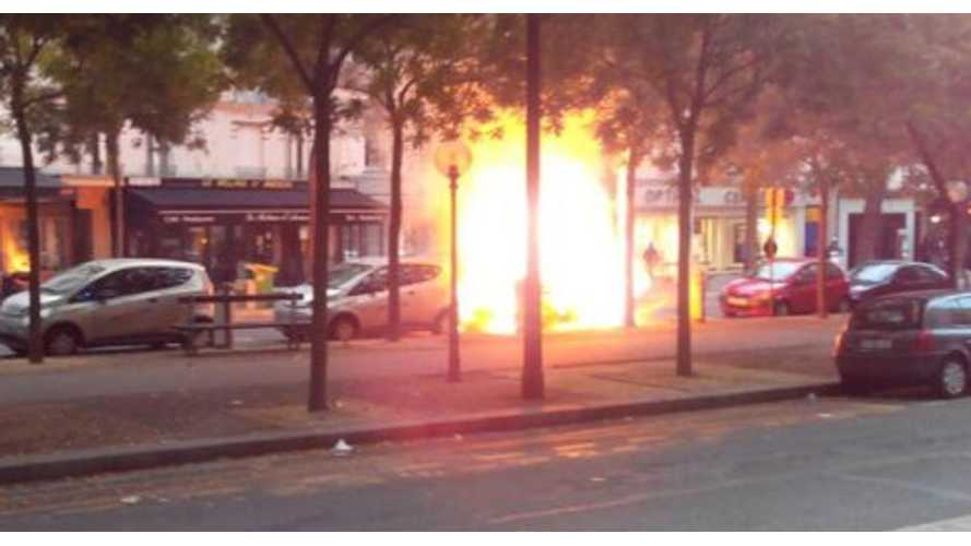 Two Autolib Bolloré Bluecars Catch Fire - Cause Unknown