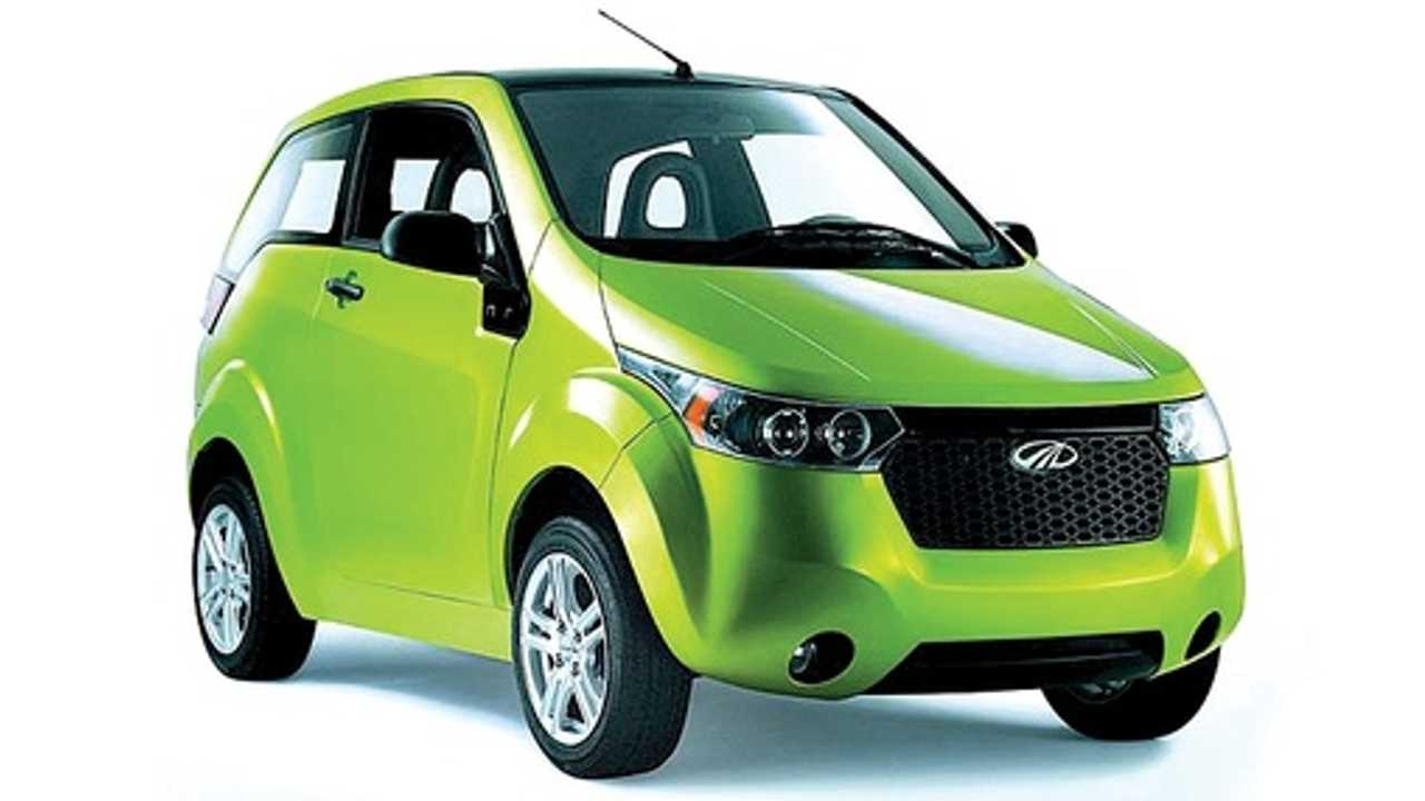 Mahindra Reva Electric e20 is Only Mass-Produced 4-Wheel Electric Currently Sold in India
