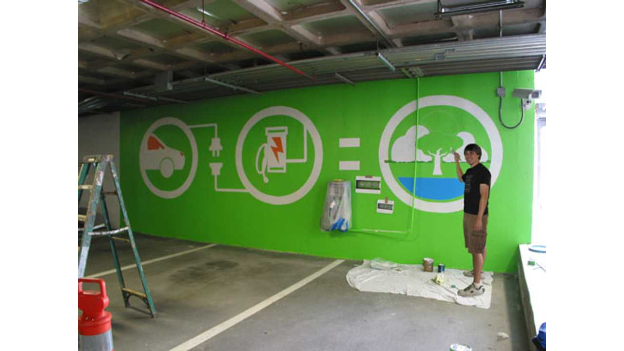 This Recently Painted Mural Sure Draws Attention to the Charger