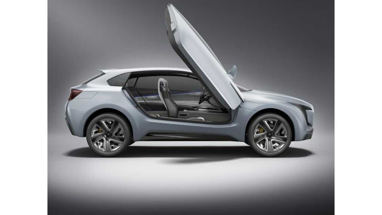 Subaru VIZIV Plug-In Hybrid Concept - This Is Not the Yet-to-be-Revealed VIZIV Evolution Version