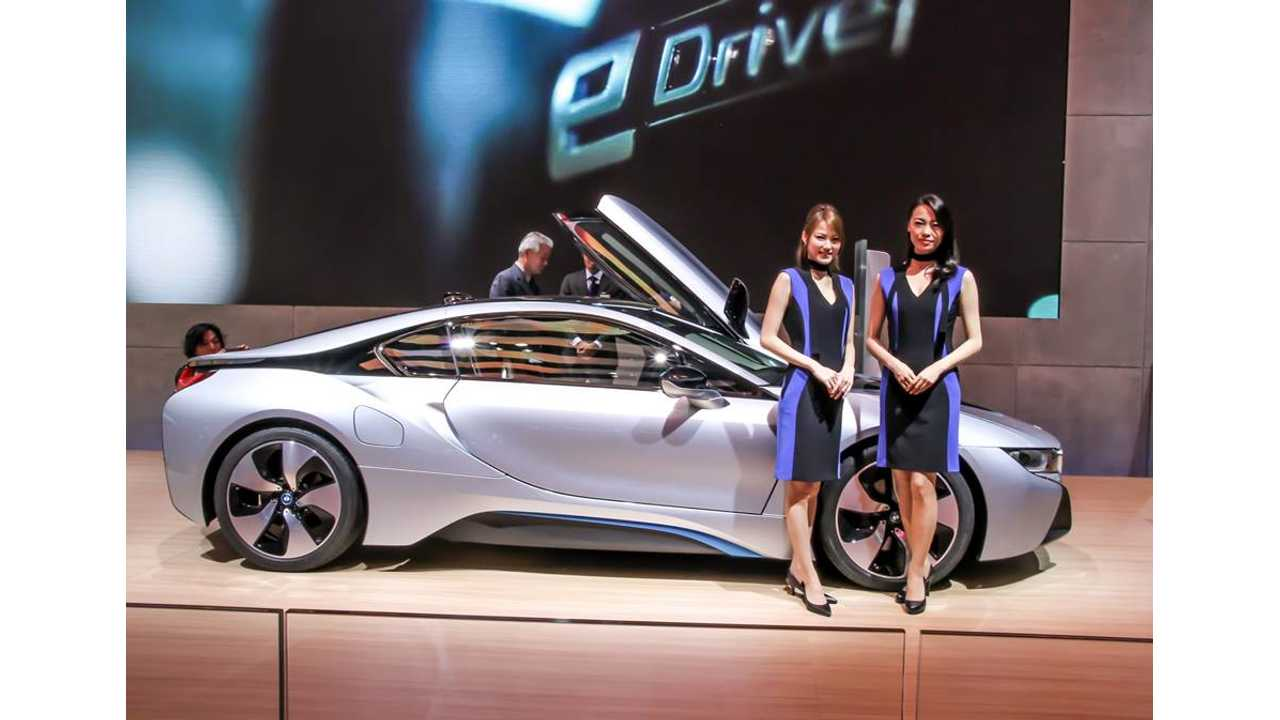 BMW i8 Is