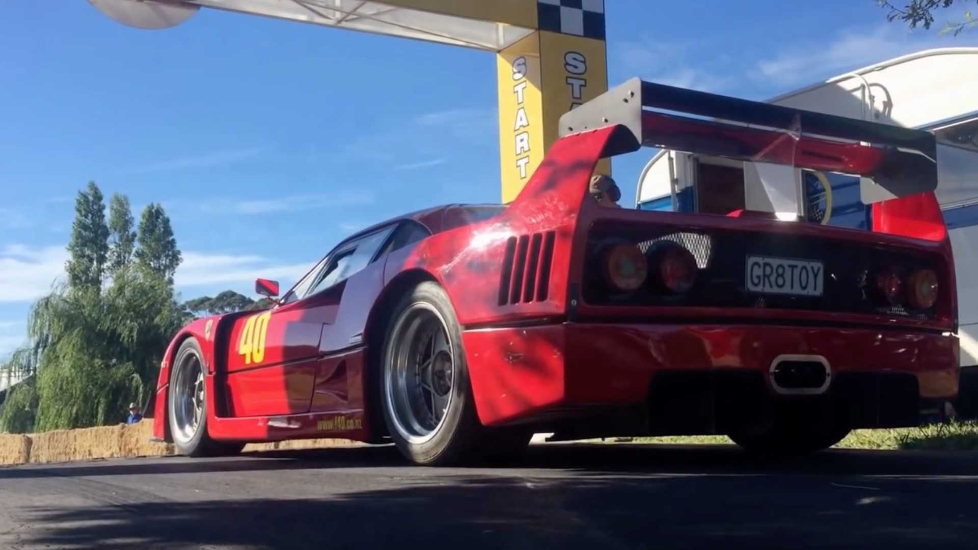 "[""Ferrari F40 LM Replica Left Rear Three Quarters""]"
