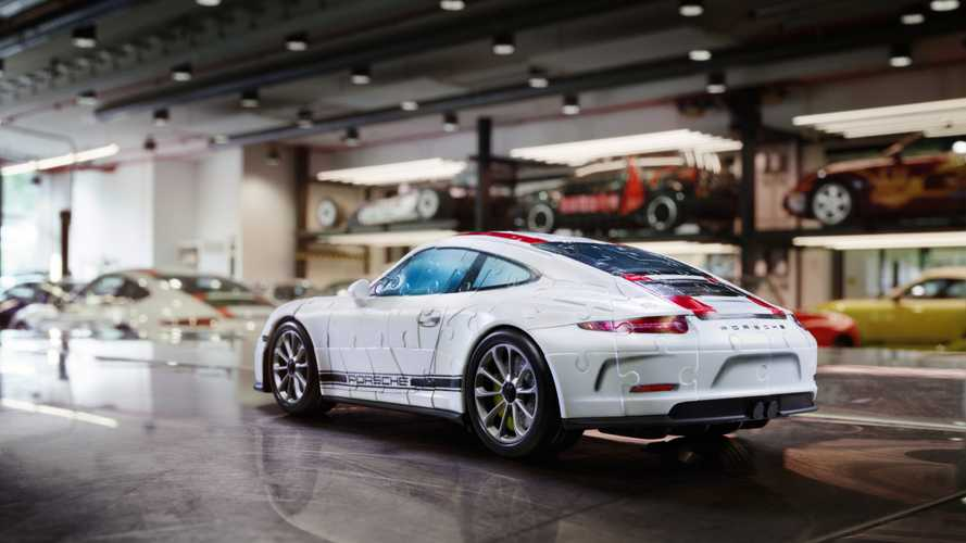 Porsche 3D Puzzle Looks Astonishingly Like The Real Thing
