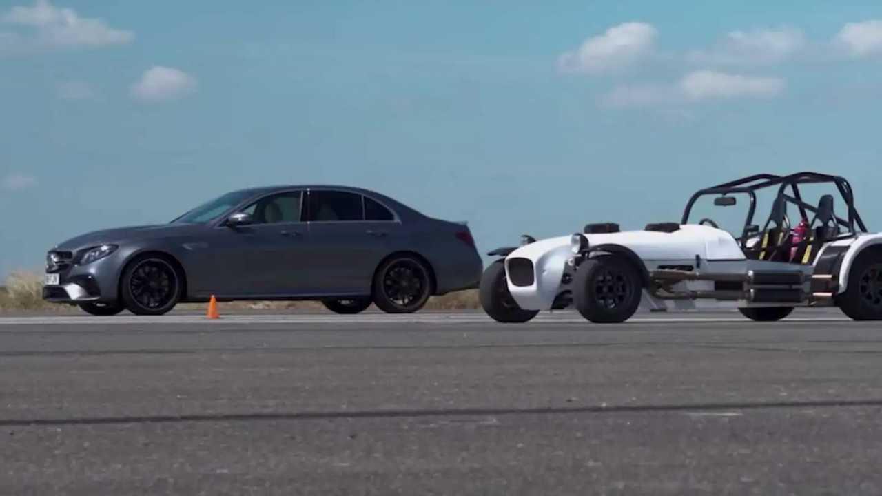 Mercedes-AMG E63 S vs MK TwinEngine
