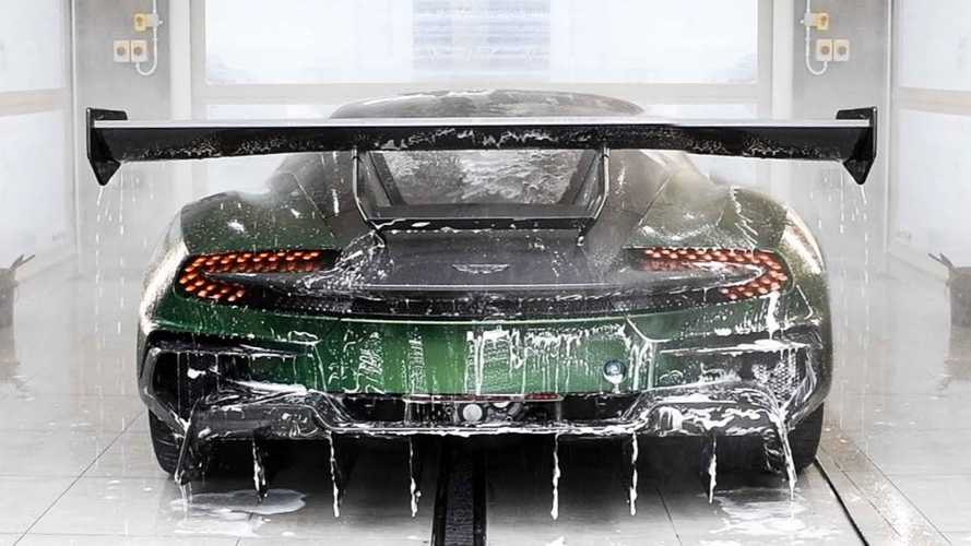 See Aston Martin Vulcan Get Paint Protection In Satisfying Video