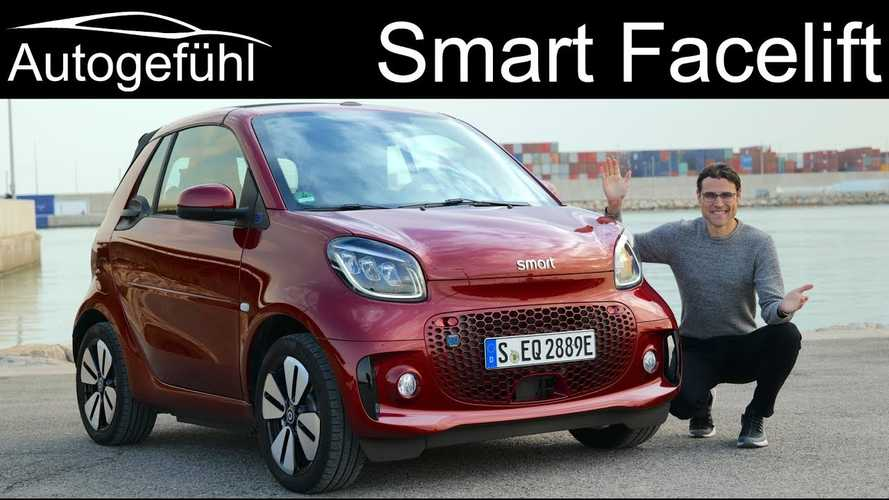 Autogefühl Compares New Smart EQ Fortwo Cabrio vs Coupé: Video